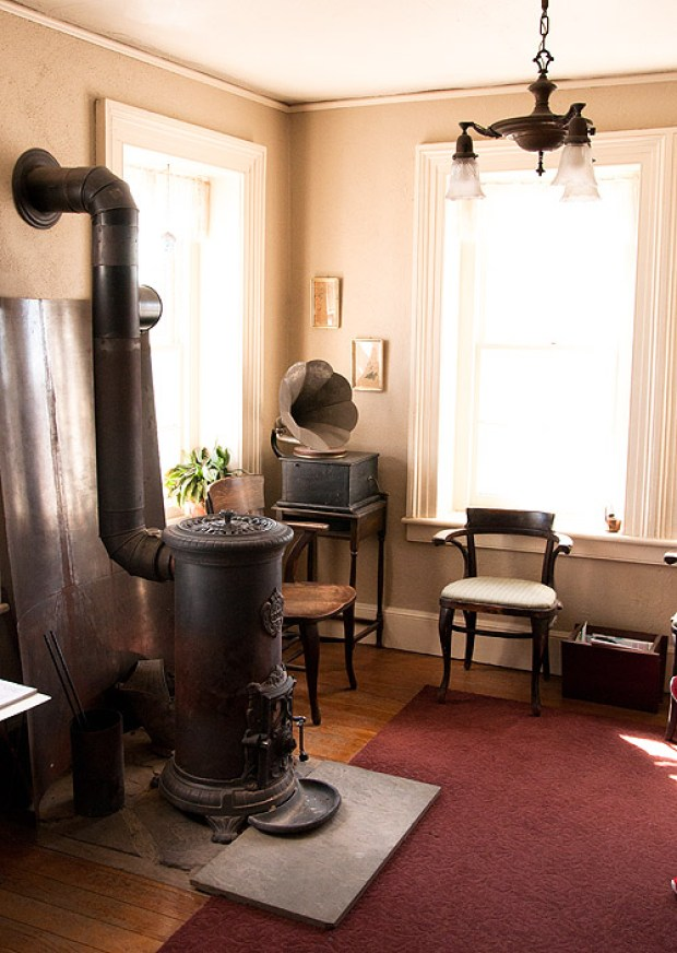 inside the Saugerties Lighthouse