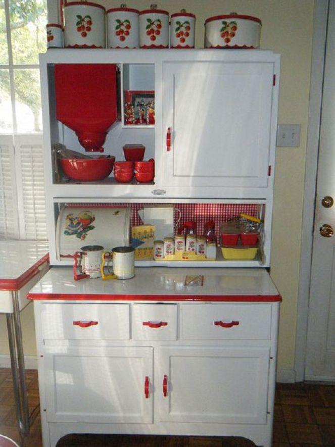 vintage hooiser cabinets