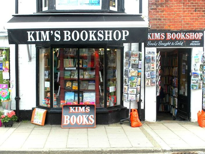 Kim's Bookshop in the UK