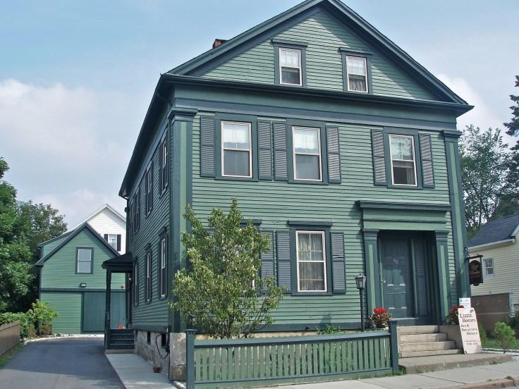 Lizzie Borden murder house