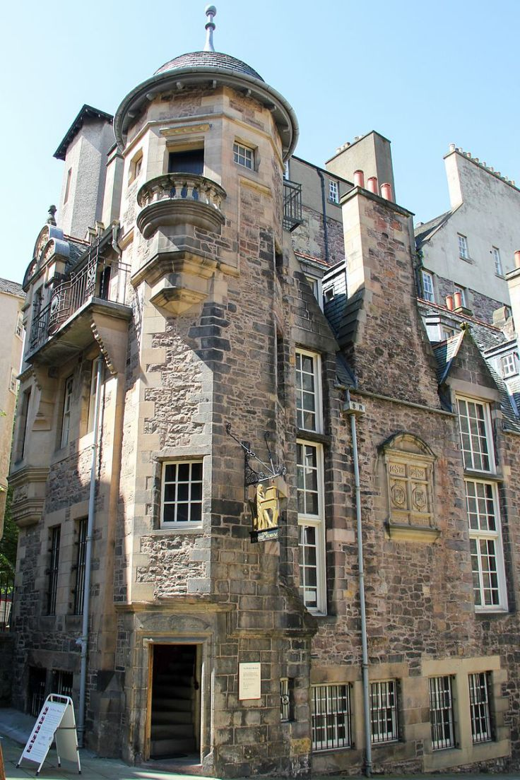 The-Writers-Museum-in-Edinburgh-Scotland