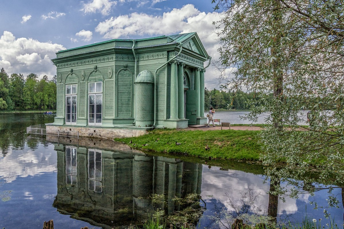 Venus Pavilion Island Of Love Imperial Residence Gatchina Russia
