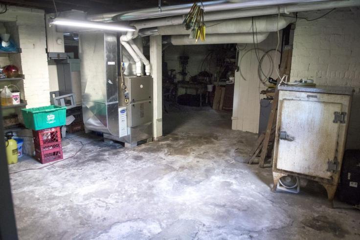 Buffalo Bill's basement