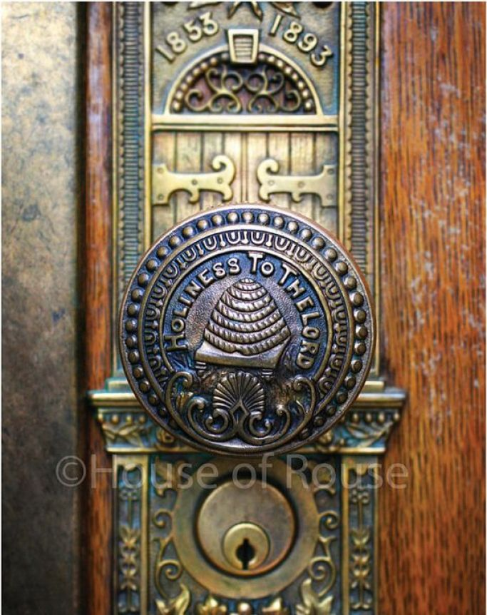 antique door knob