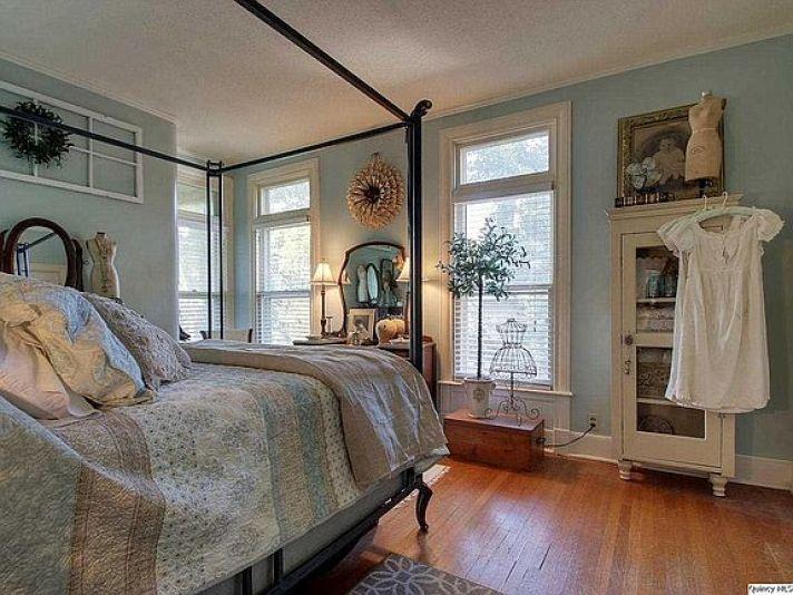 Victorian house bedroom