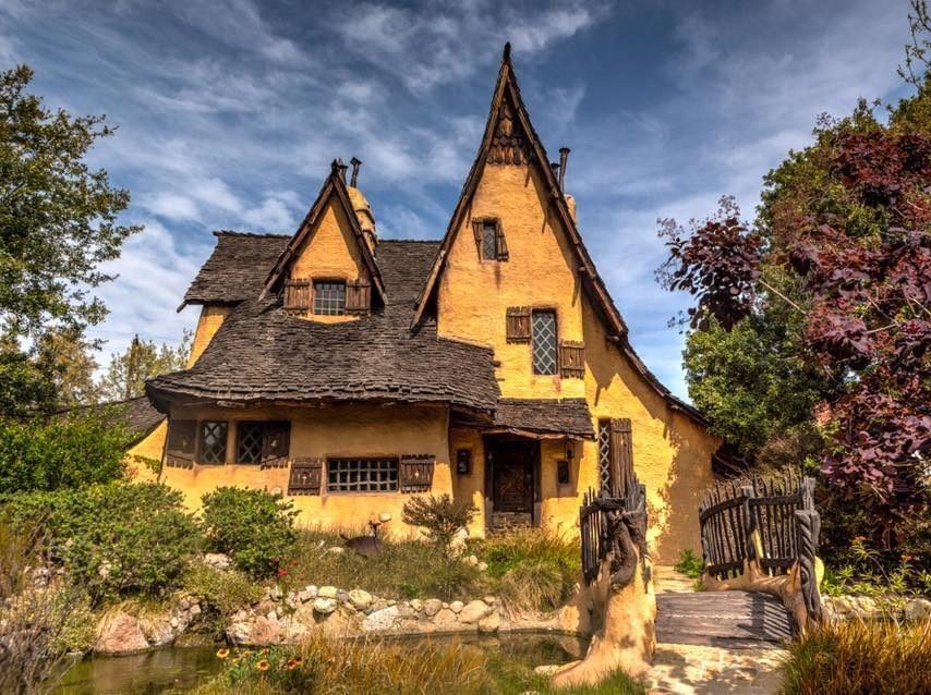 Witch House in Culver City California