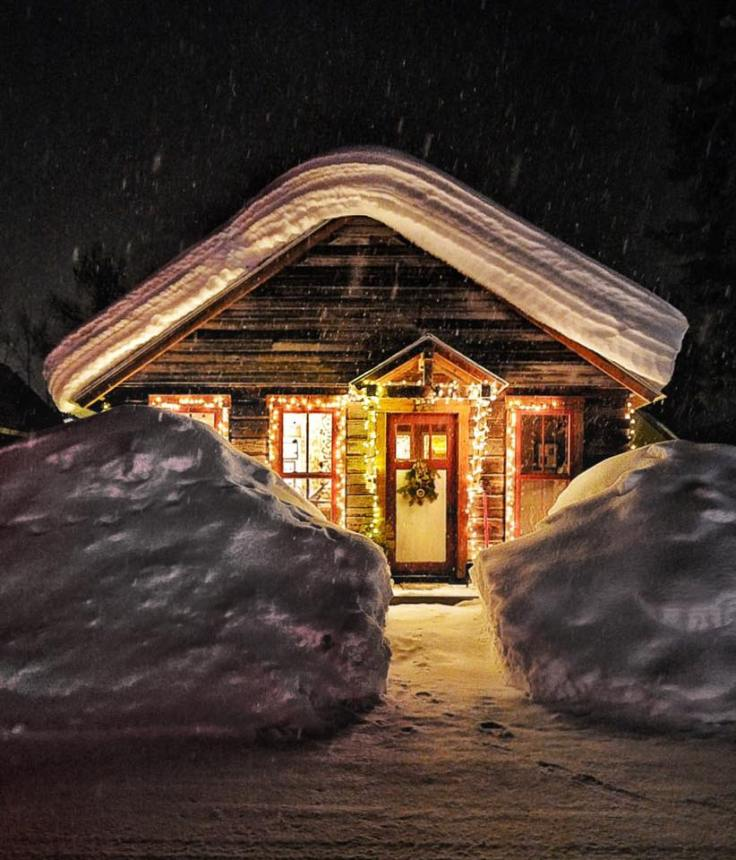 Colorado Christmas cabin