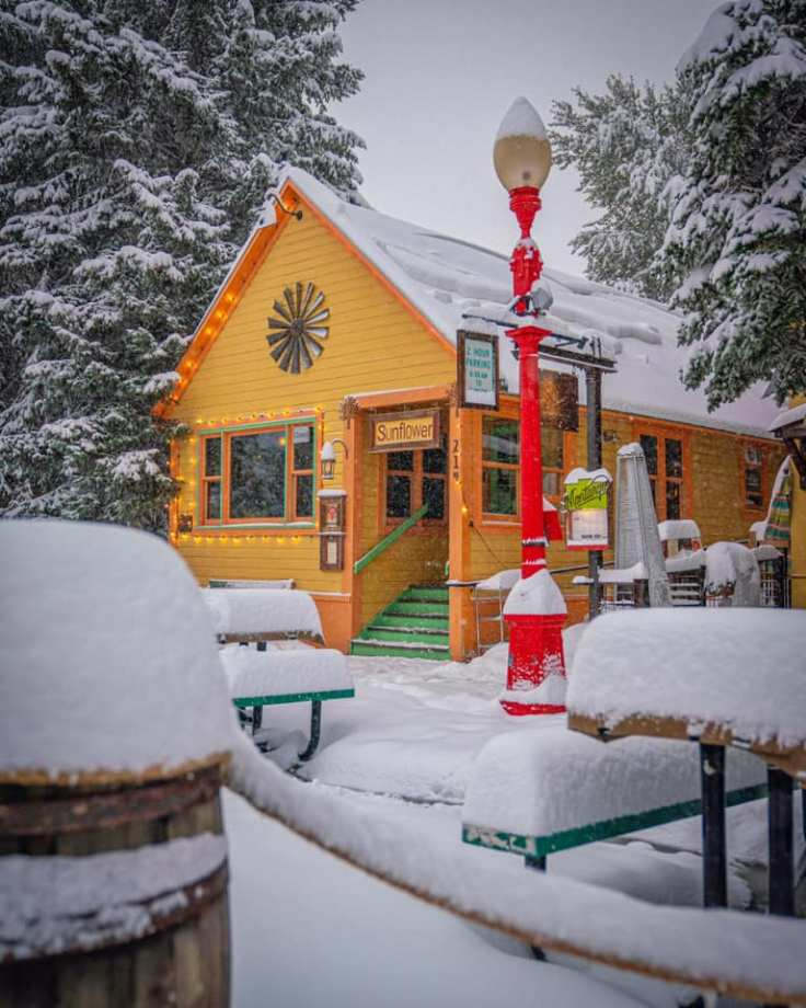 Crested Butte Colorado winter photos
