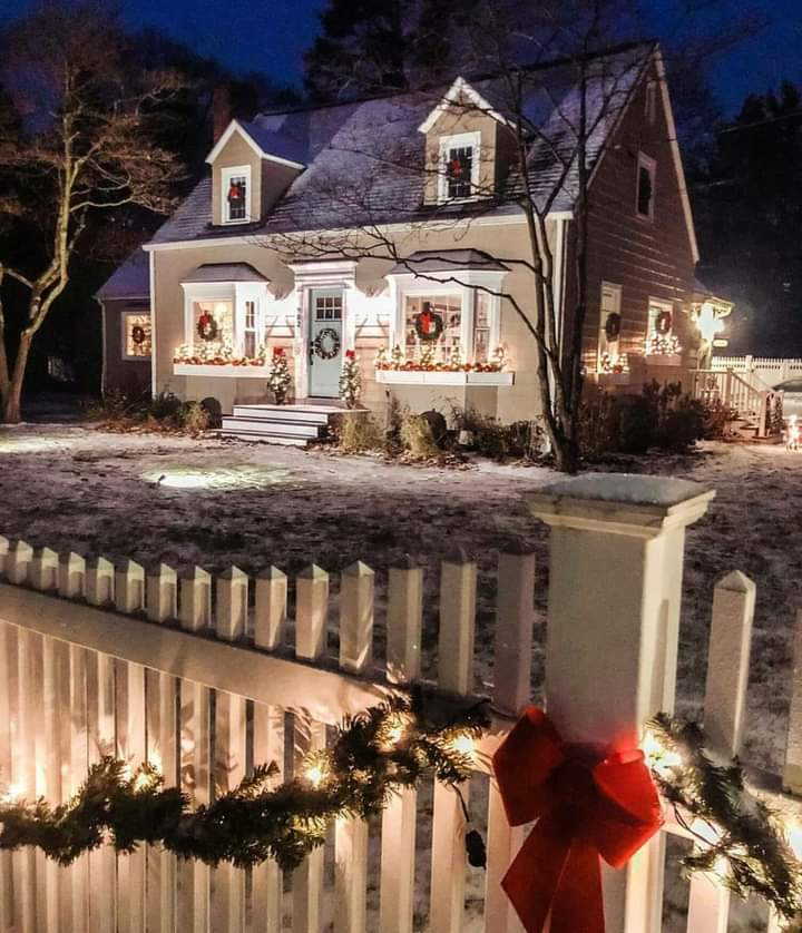 cozy Christmas house