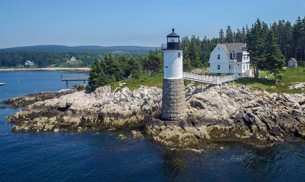 the Lightkeeper's Cottage in Maine