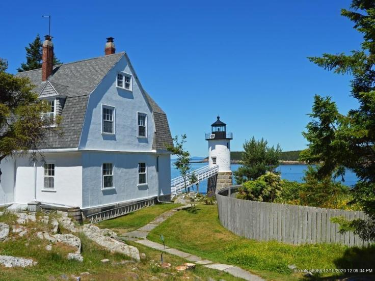 Lighthouse keeper's cottage for sale in Maine