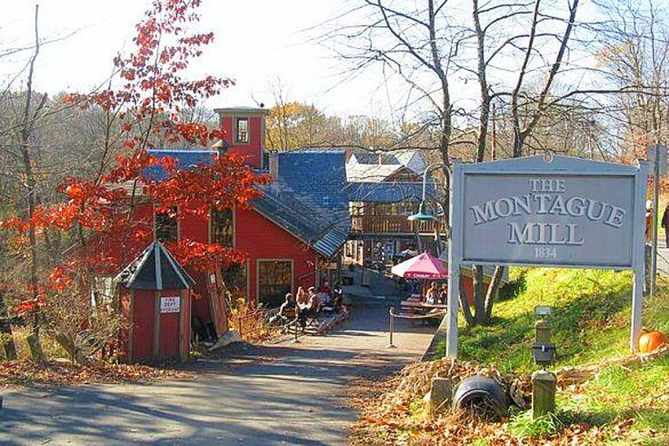 The Montague Book Mill in Massachusetts