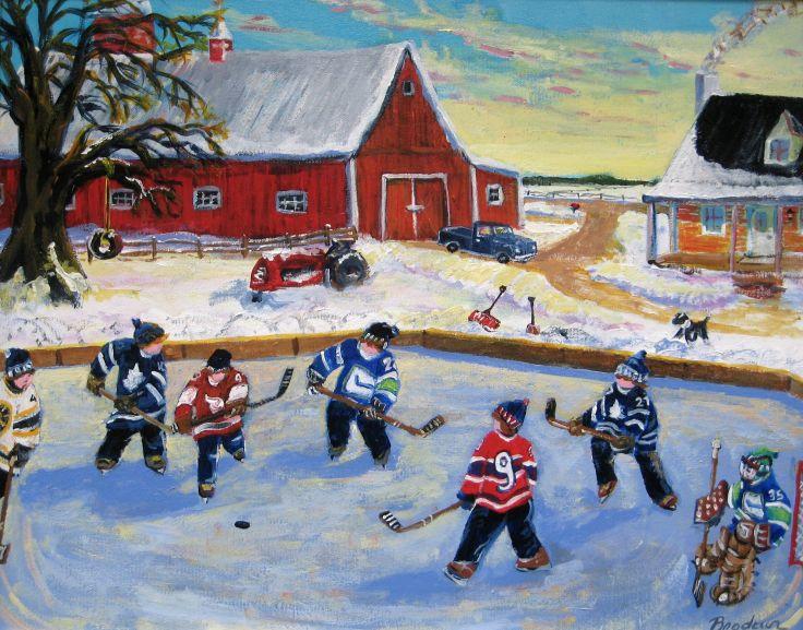 Richard Brodeur former hockey player now an artist