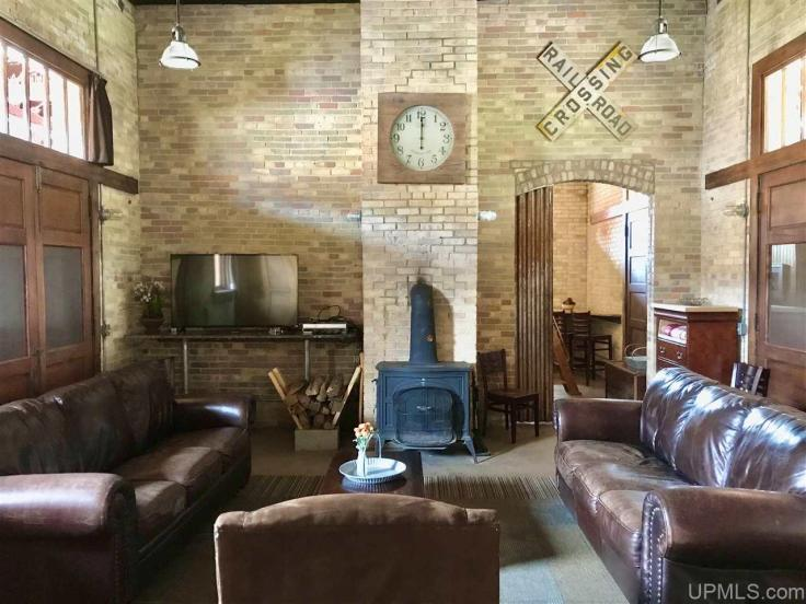 old train station converted to home