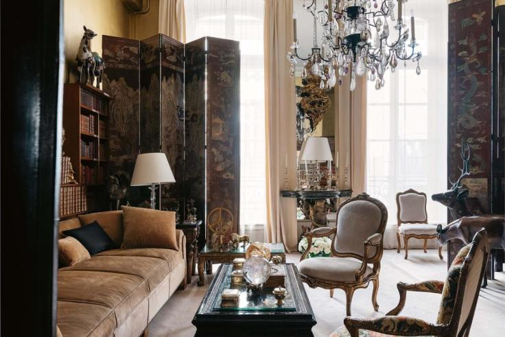 inside Coco Chanel's Paris apartment