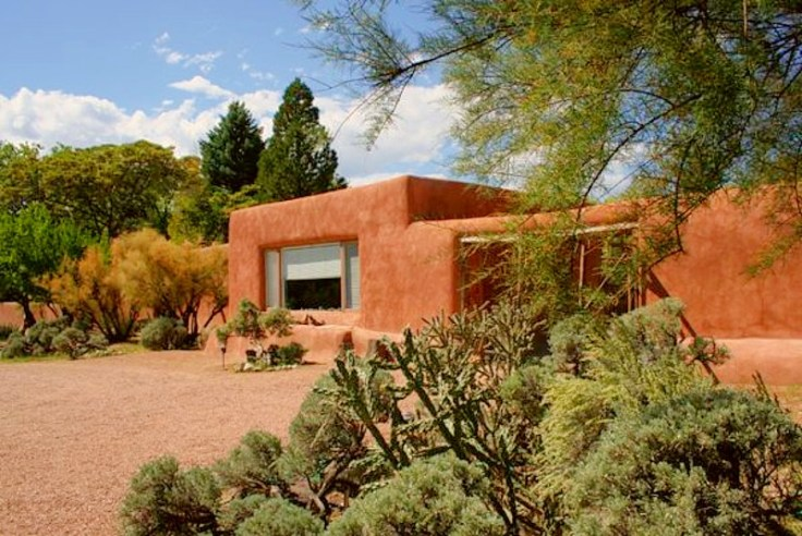 Georgia O'Keeffe's house & studio in New Mexico