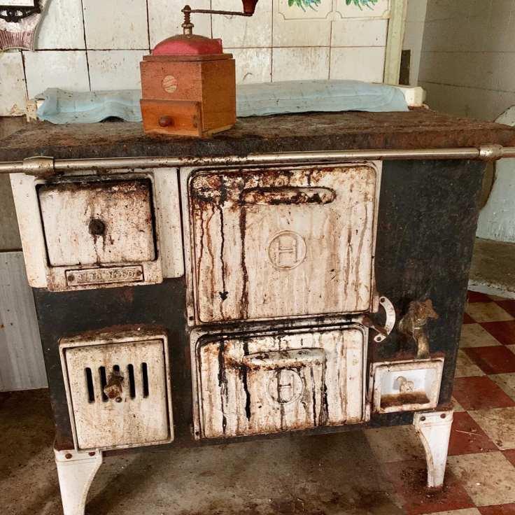 Scandinavian antique stove