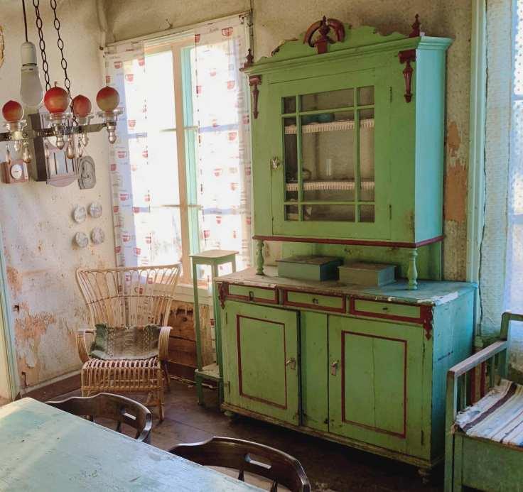 Scandinavian farmhouse interior