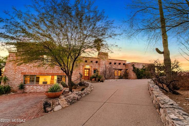Tucson Territorial house for sale