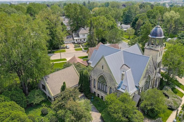 historic Wisconsin church converted to home