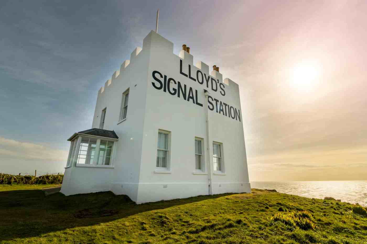 Lloyd's Signal Station in Cornwall UK