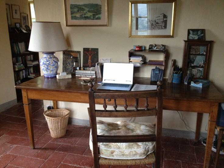 Inside Frances Mayes Bramasole house
