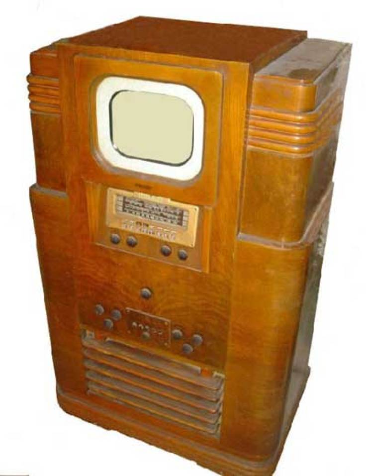 1940's vintage television