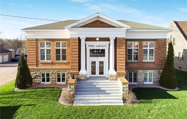 Wisconsin historic Carnegie library converted to home