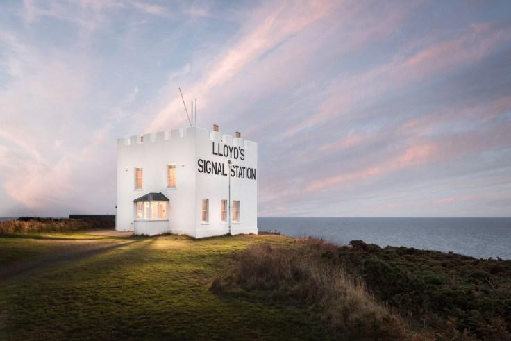 Lloyd's Signal Station in Cornwall