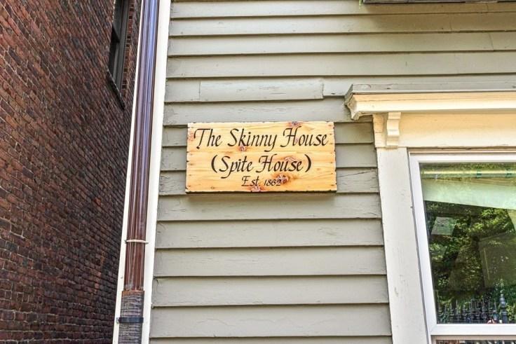 Skinny house in Boston for sale