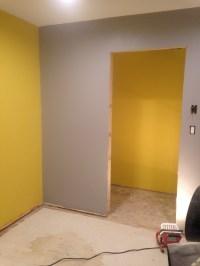 Bedroom Progress: Part 2 | A House, A Dog, & A Hammer
