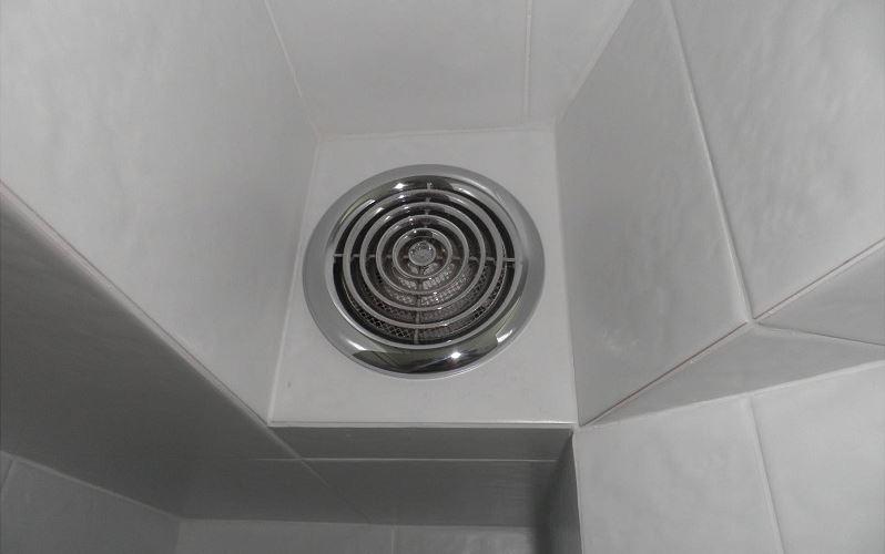 Aktiv ventilation på badeværelset