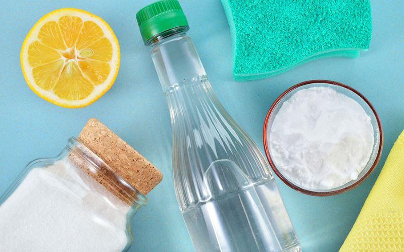 Soda og eddike mod skimmelsvamp