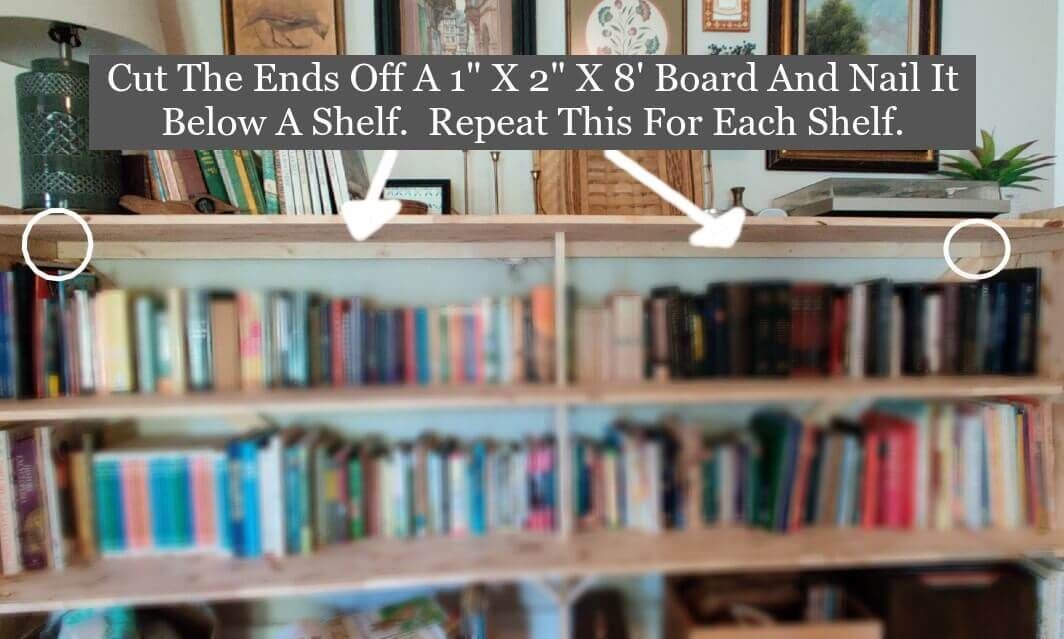 How to Build a Bookshelf - Step 6