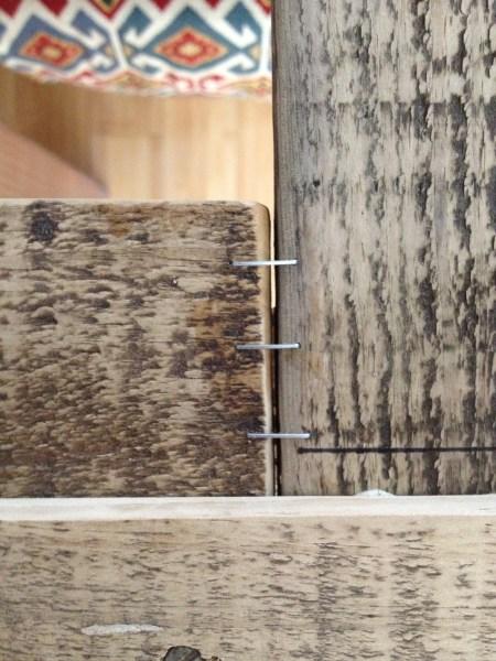 Rustic Wood Mirror