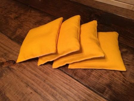 Handmade Cornhole Bags || House. Food. Baby.
