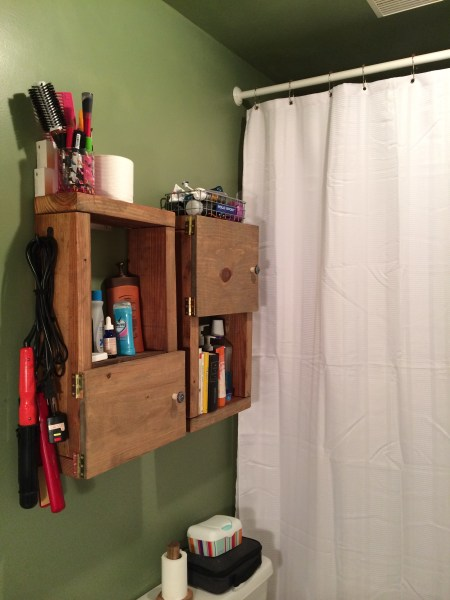 Renter's Upgrade: Extra_long Shower Curtain || House. Food. Baby.