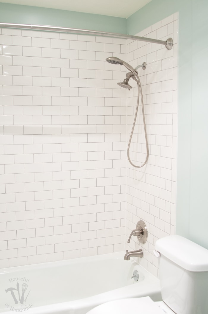 Master Bathroom Remodel Installing New Tub  Shower