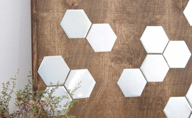 Diy Metal Hexagon Wall Art Houseful Of Handmade