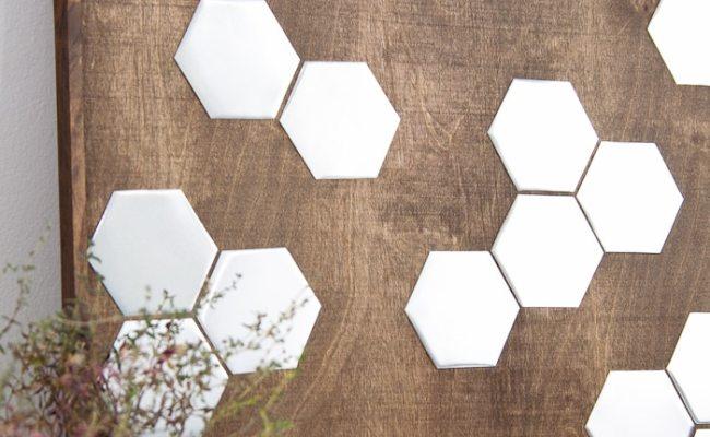 Diy Metal Hexagon Wall Art A Houseful Of Handmade