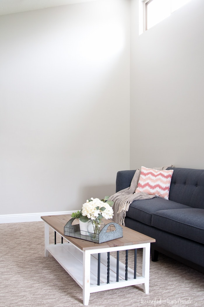gray paint colors for living room the perfect greige color houseful of handmade no more searching griege i love this warm