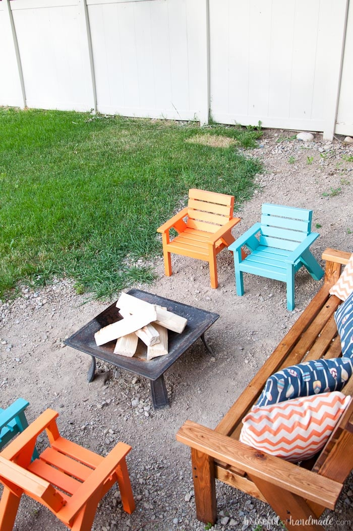 patio chairs for kids ivory dining easy diy houseful of handmade create the perfect backyard seating with these are