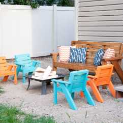 Patio Chairs For Kids Homecrest Chair Covers Easy Diy Houseful Of Handmade Create The Perfect Backyard Seating With These Are