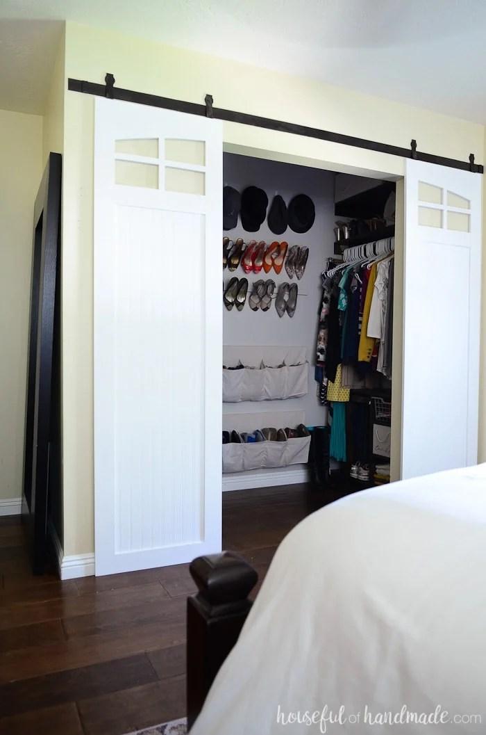 closet sliding barn doors build plans