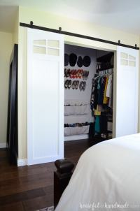 Closet Sliding Barn Doors Build Plans - a Houseful of Handmade