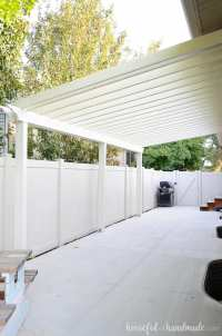 Build a Patio Pergola attached to the House - Houseful of ...