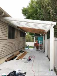 Build a Patio Pergola attached to the House - Page 2 of 2 ...