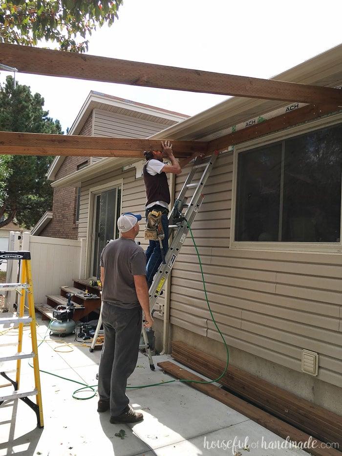 pergola attached the roof laptrinhx