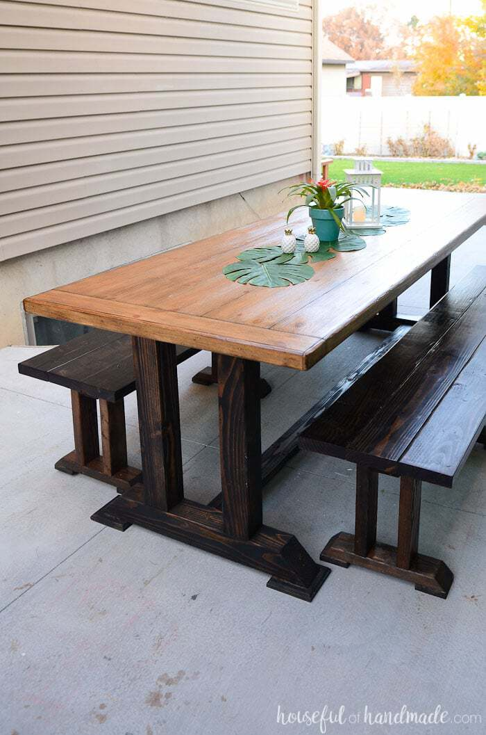 15 diy patio furniture projects for