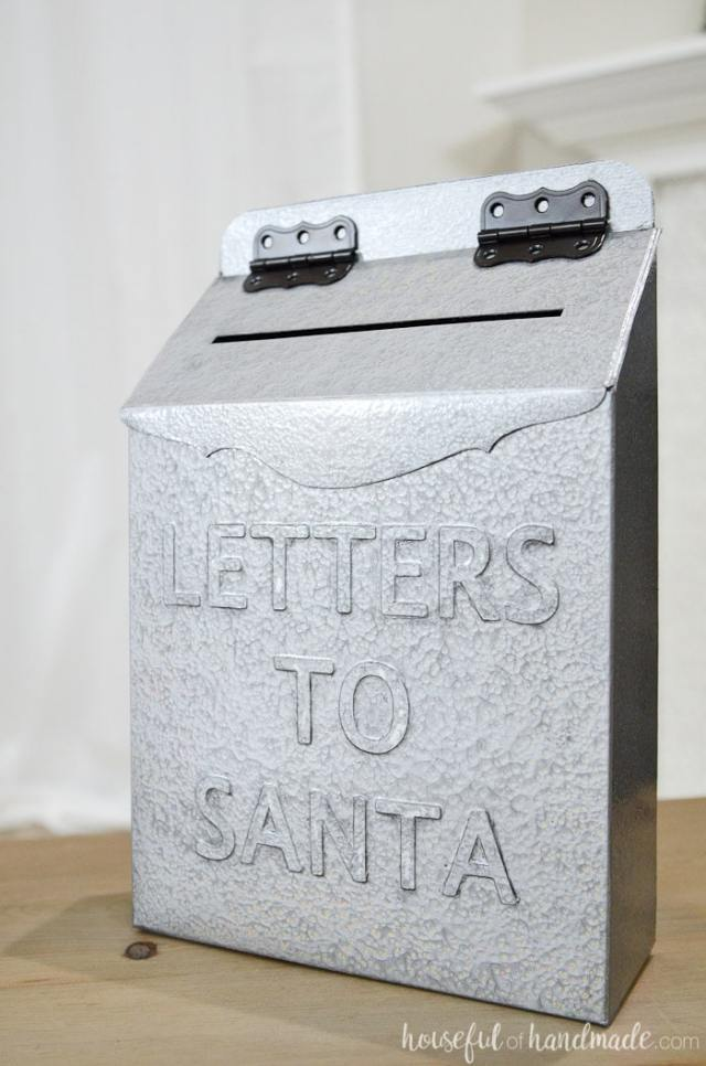 Letters To Santa Mailbox Diy Houseful
